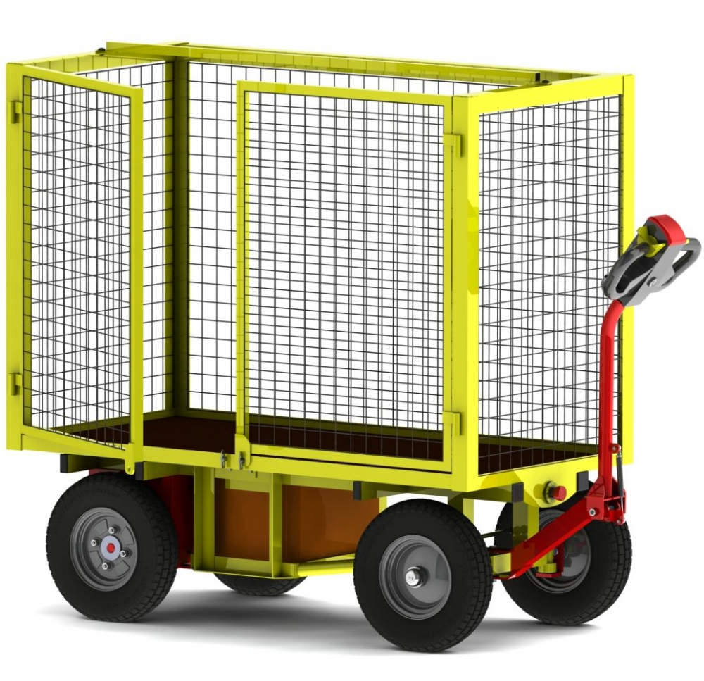 Powered Turntable Truck 2x Full Height Doors